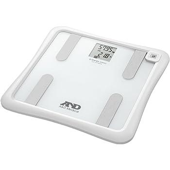 A&D 体組成計 NFC通信機能付きAndroidデバイス対応版 ホワイト UC-411NFC-W