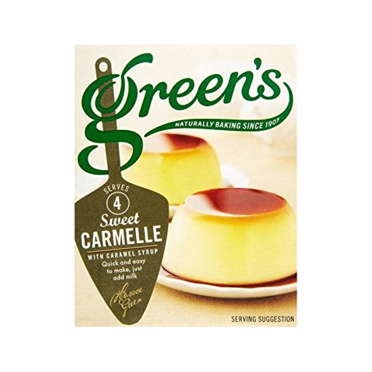 下データ確立します古典的なCarmelleの70グラム (Green's) (x 2) - Green's Classic Carmelle 70g (Pack of 2)