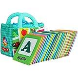 【ノーブランド 品】約26pcs 学習パターン 教育 読本 子供 布 カード ブック おもちゃ 贈り物