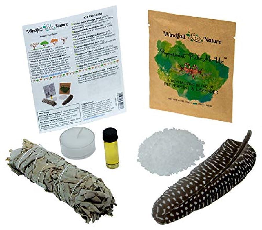 ローズ瞑想郵便ホームクレンジング& BlessingキットTM – : - - - - - - - - - - - - - - - - - - - - - : Includes Freshカリフォルニア5