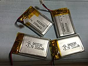 KDC用 KDC200 KDC200i等 KOAMTAC バーコードリーダー用 交換電池 3.7V 200ma 大容量 [並行輸入品]