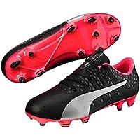 PUMA Boys Evopower Vigor 4 Fg Jr Gg, Green Football Boots