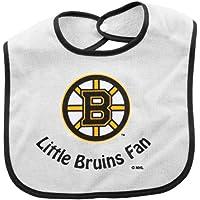 Boston Bruinsホワイトスナップよだれかけ