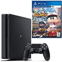 PlayStation 4 ジェット・ブラック 500GB + 実況パワフルプロ野球2018 セット