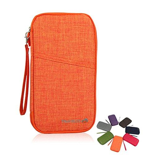 (ハバー)Habor 多機能 パスポートケース トラベルケース 旅行用品 便利グッズ 航空券 ポーチ 全7色