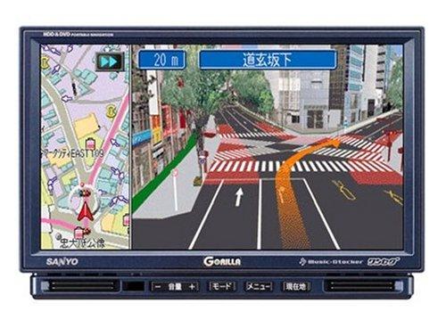 SANYO ポータブルHDDナビゲーション 「HD GORILLA」 NV-HD870DT