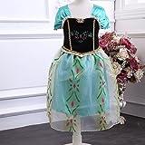 【ノーブランド品】【コスプレ】 アナと雪の女王 Anaワンピース 120cm