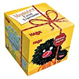 HABA Gift Cube Game - Monster Facial Expressions - A Funny Memory & Imitation Game for Ages 5 and Up