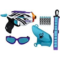 Nerf Rebelle Super Stripes Collection Wild Glam Set by Hasbro [並行輸入品]