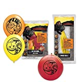 Pioneer National Latex DreamWorks How To Train Your Dragon 2 6 Balloons/4 Punch Balls, Assorted [並行輸入品]