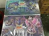 遊戯王 公式 プレイマット エルシャドール アジア 4枚
