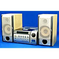 KENWOOD ケンウッド JVC SJ-5WM マイクロハイファイコンポーネントシステム(CD/MDコンポ)(本体RMD-KF7700とスピーカーLS-SJ7-Hのセット)