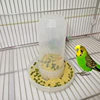 ZoCenterShop(TM) 鳥の送り装置の食糧水供給の自動酒飲みのオウムペットクリップディスペンサーのおり