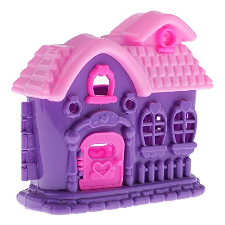 SONONIA 子供 ごっこ遊び おもちゃ 人形用 ヴィラハウス バービー人形用家具 アクセサリー おもちゃ