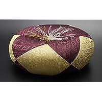 京仏壇はやし 仏具 丸布団 弥生 8号 ◆直径 約24cm × 高さ 約8cm ※おりん、木魚、木柾用のおふとんです。
