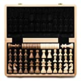 WOODEN CHESS AND CHECKERS