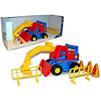 Wader品質おもちゃConstruct Excavator Toy