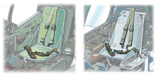 1/48 ナノ・アヴィエーションシリーズ WWII 米軍機用シートベルト NC4
