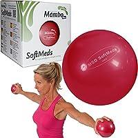 Msd SOFTMED 1.5 Kg)薬の球12 cmインフレータブルボールピラティススポーツソフトウェイト