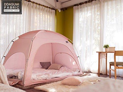 タスミ暖房テント ファブリック 1-2人用 (ピンク)...