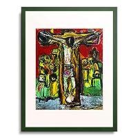 Cwenarski, Waldemar,1926-1953 「Kreuzigung Christi. 1952」 額装アート作品