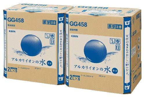 [2CS] キリン アルカリイオンの水 PET (2L×6本)×2箱をアマゾンで購入