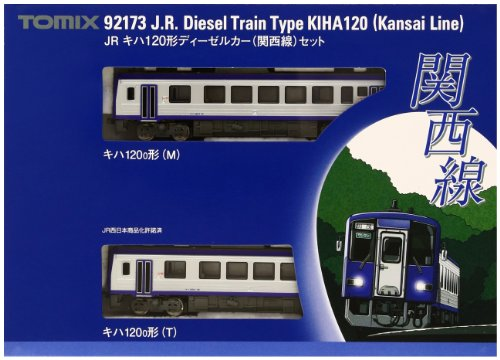 TOMIX Nゲージ 92173 キハ120形ディーゼルカー (関西線) セット