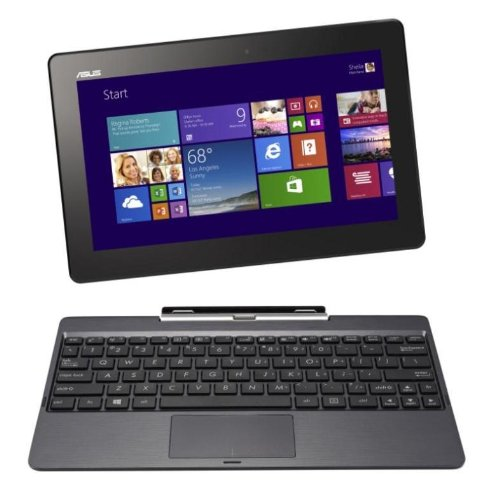ASUS T100TAシリーズ NB / gray (WIN8.1 32bit / 10.1inch HD touch / Z3740 / 2G / 32G / JISキーボード) T100TA-DK32G