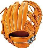 ZETT(ゼット) 軟式野球 ネオステイタス グラブ (グローブ) セカンド・ショート用 新軟式ボール対応 オレンジB(5600B) 右投げ用 BRGB31910