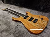 Caparison Dellinger II FX-SMM CL-ML50 Spalted Maple/Mahogany Natural #047 【MUSICLAND KEY50周年記念モデル】 (¥ 298,000)