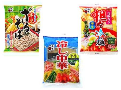 五木食品 半生タイプ冷し麺 詰め合わせ 3種類各4個入り 1...