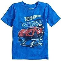 Jumping Beans Little Boys' 4-12 Hot Wheels 68 Tee 10 Blue