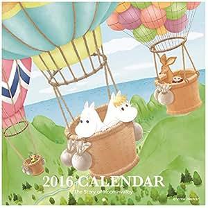 学研ステイフル ムーミン 2016年 カレンダー 気球 AM13042