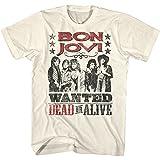 来日記念 BON JOVI ボン・ジョヴィ - DEAD OR ALIVE/バックプリントあり / Tシャツ/メンズ 【公式/オフィシャル】