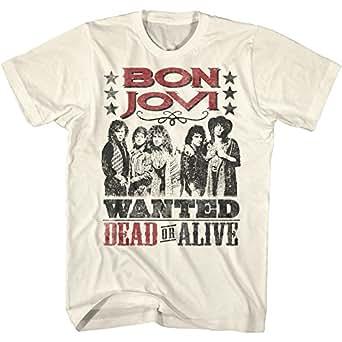 BON JOVI ボン・ジョヴィ - DEAD OR ALIVE/バックプリントあり/Tシャツ/メンズ 【公式/オフィシャル】
