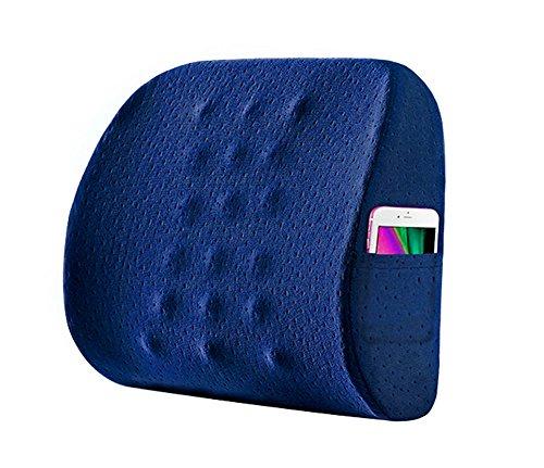 【最新モデル】 低反発 腰痛クッション ランバーサポート 腰...
