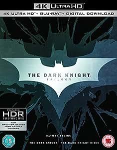 ダークナイト トリロジー [4K UHD + Blu-ray UHDに日本語有り ※下記商品情報を確認 リージョンフリー](Import版)