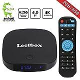 Leelbox Q2 mini Android 6.0 TV Box 2G RAM / 8G ROM BT 4.0 搭載 4K (60Hz) フル HD /H.265 /WiFi