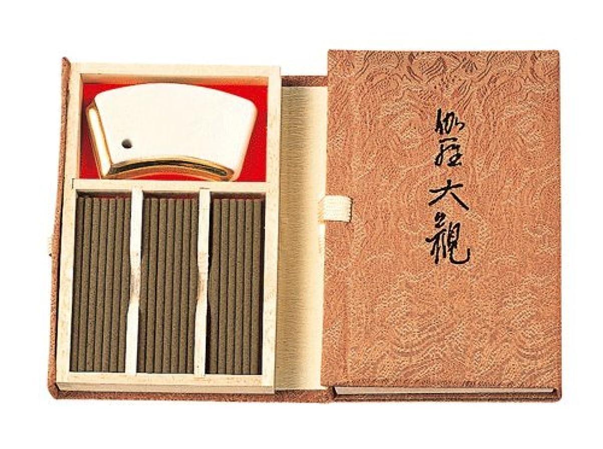 タヒチ斧マネージャー香木の香りのお香 伽羅大観 スティック45本入
