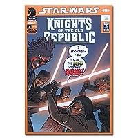Knights of Old Republic Dead Rev オリジナル・ポストカード Star Wars Comics Knights of Old Republic Dead Rev カードギフト