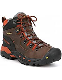 (キーン) Keen メンズ シューズ?靴 ブーツ KEEN Utility Pittsburgh Waterproof Soft Toe Work Boots [並行輸入品]