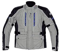 エルフ(ELF) ジャケット ハーフロング ナイロンブルゾン グレー M EL-6245LTD