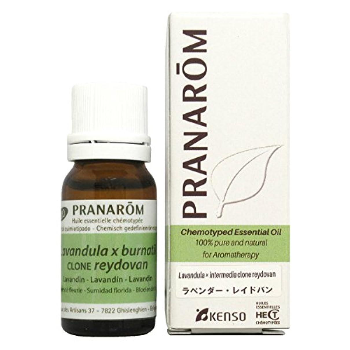 感謝代わりの嫌がるプラナロム ラベンダーレイドバン 10ml (PRANAROM ケモタイプ精油)