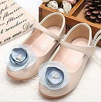 ストラップタイプシューズ 大きな1輪フラワー付き♪超可愛いフォーマル靴 女の子 キッズ 入学式 キッズ 子供 靴  Pink,130