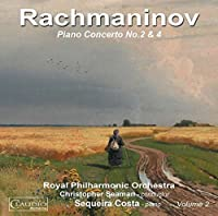 Rachmaninov: Piano Concertos Nos. 2 & 4 by Sequeira Costa (2013-05-03)