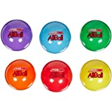 Balls R US 020502 Sportime 4 in. Multi-Purpose Inflatable All-Balls, Set of 6