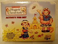 Classic Raggedy Ann & Andy Activity Fun Set [並行輸入品]