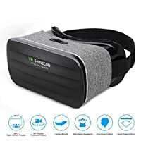 Pansonite 3D VR Glasses Virtual Reality Headsets for Movie & Gaming Goggles With Multifocal HD Tech & Large Viewing Field Fit For iPhone/Samaung Galaxy/Note/Edge /LG Etc. [並行輸入品]