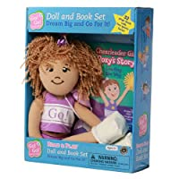 Cheerleader Girl Roxy's Story Read & Play Doll and Book Set: Leading the Way (Go! Go! Sports Girls)