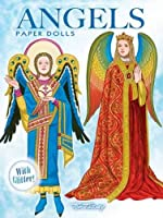 Angels Paper Dolls: with Glitter! (Dover Paper Dolls)